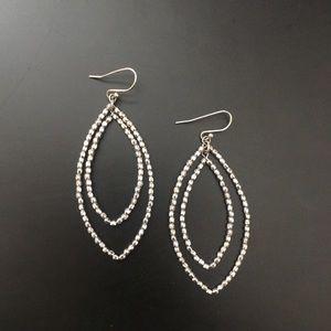 Silver Statement Earrings from Stella & Dot